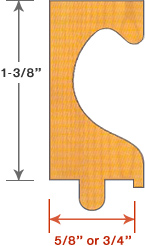 C Profile Finger Pulls Specifications